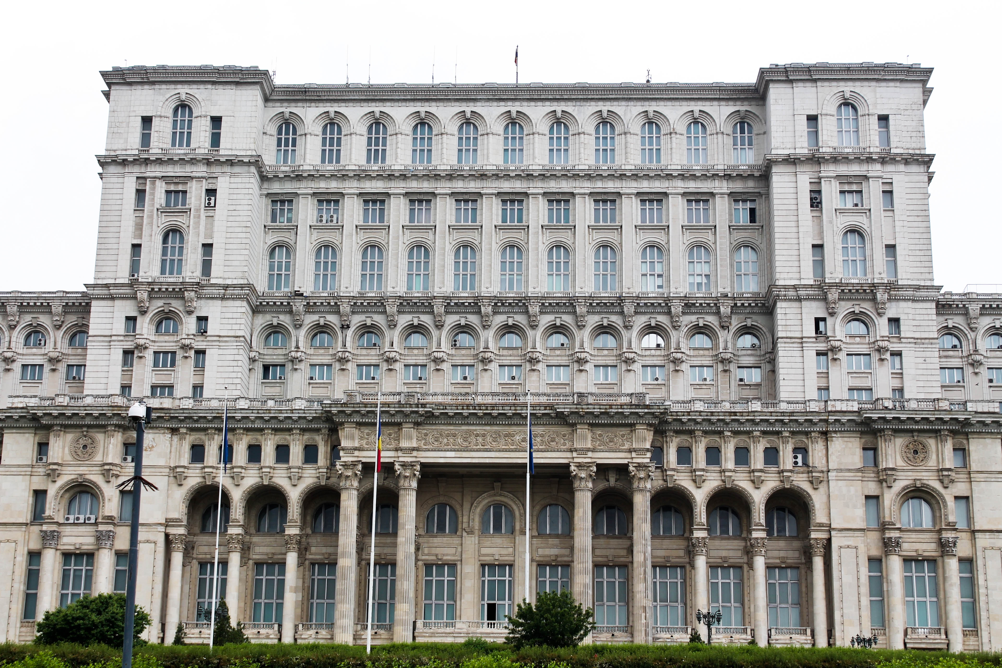 Bucharest, Romania: Parliament Palace building communism tour