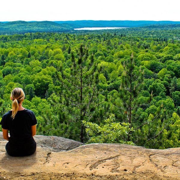 algonquin park hiking - the pink backpack travel and adventure blog