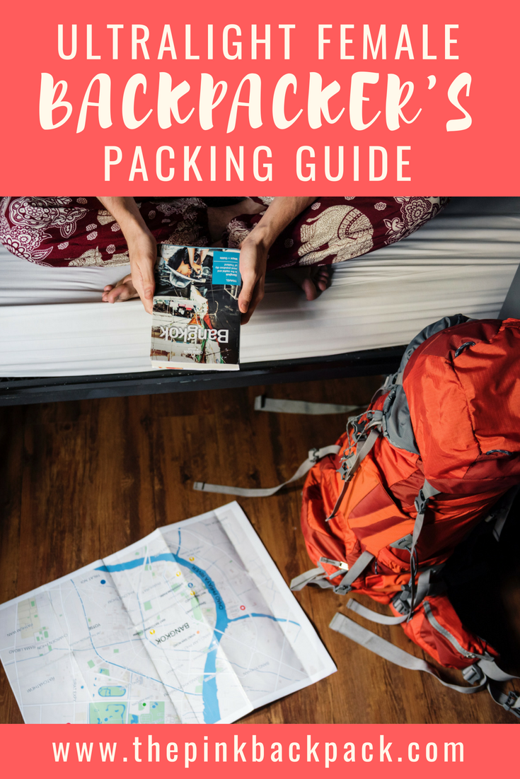 ultralight backpacking list