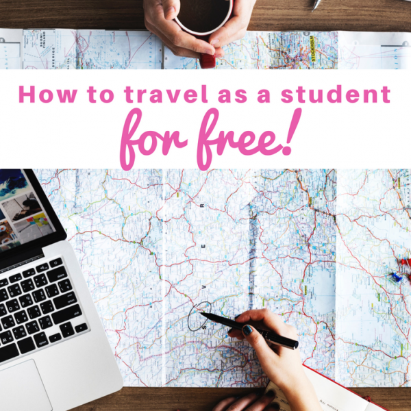 how to travel as a student
