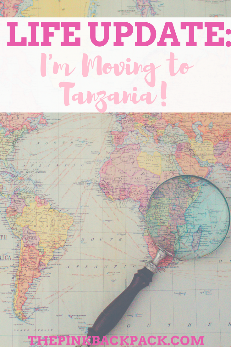 moving to Tanzania - The pink backpack blog