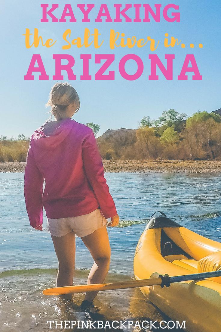 Kayaking the salt river