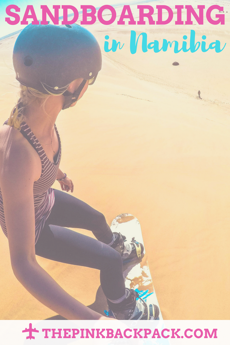 sand boarding namibia africa