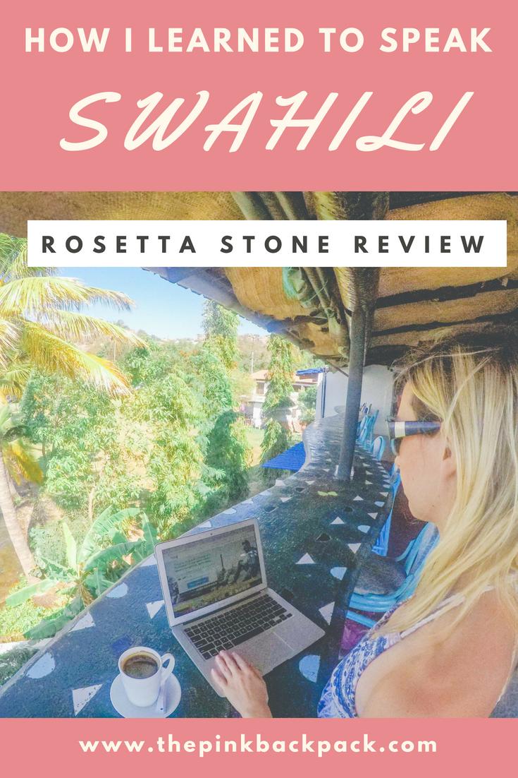 Rosetta stone swahili