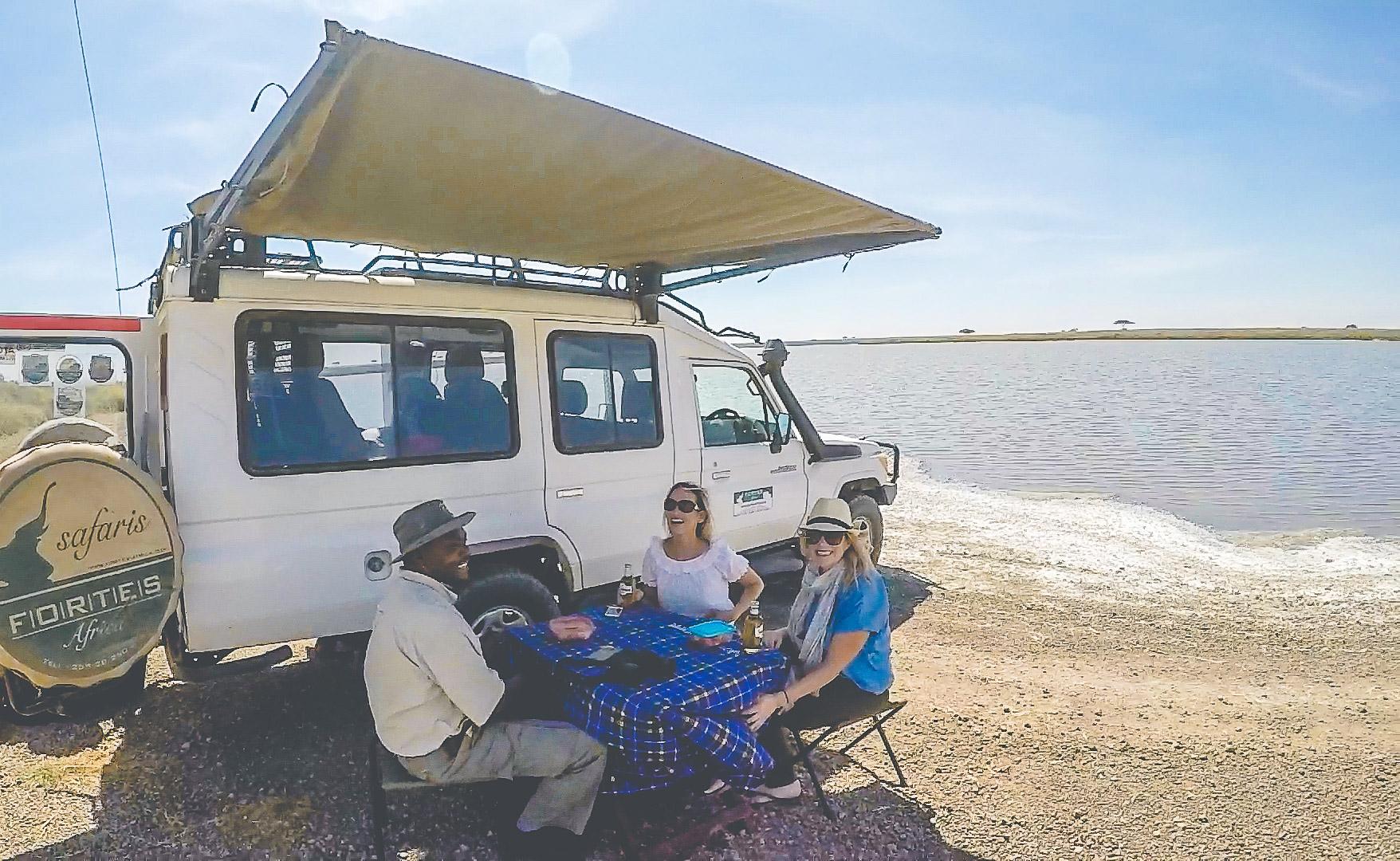serengeti safari intinerary